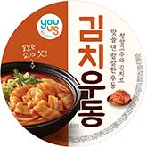 유어스김치우동 상품